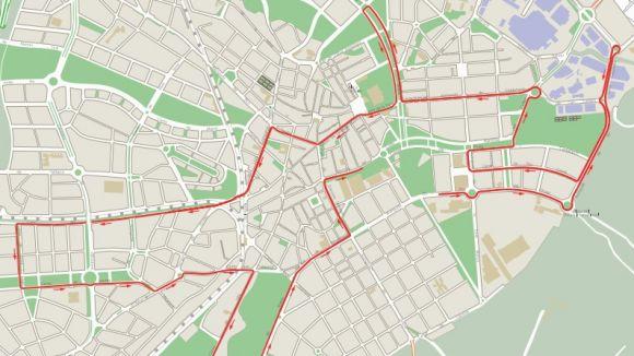 Afectacions de trànsit i de transport urbà amb motiu de la Sant Silvestre