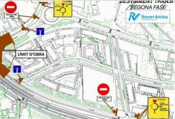 El trànsit als carrers Josep Irla i Vallseca es reobre avui