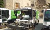 Les noves màquines escombradores han estat presentades en un acte a la plaça d'Octavià