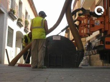 Comencen les obres d'extensió de la fibra òptica entre tots els edificis municipals