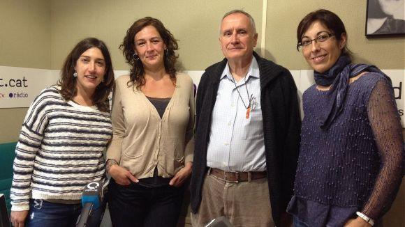 Lídia Ponsatí, Susanna García, Eduard Soler i Mar Oñate