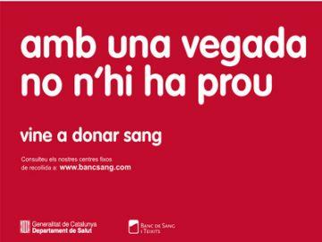 Les donacions de sang s'han reduït aquest estiu respecte la resta de l'any a la ciutat
