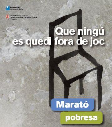 La ciutat i Cugat.cat s'impliquen en la Marató per la pobresa de TV3