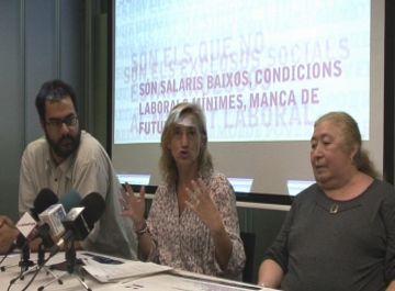 Sant Cugat no es 'queda fora de joc' en la Marató per la pobresa