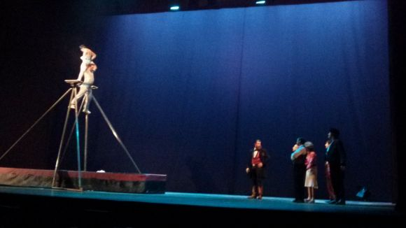 'Maravillas' capgira el món del circ al Teatre-Auditori