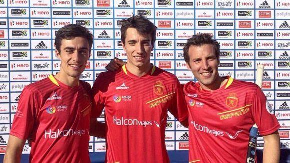 Marc Perellón, Sergi Enrique i Marc Serrahima, convocats amb la selecció espanyola d'hoquei herba