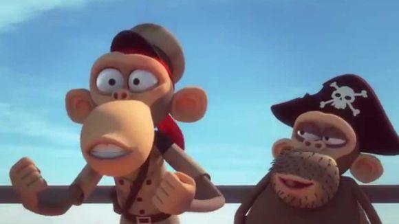 El cicle de Cinema en Família proposa avui 'Marco Macaco i els primats del Carib'