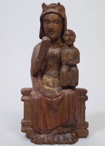El CRBMC restaura dues escultures romàniques del Centre Excursionista de Catalunya