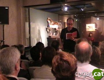 Margarit dóna vida als quadres de Subirachs amb els seus poemes