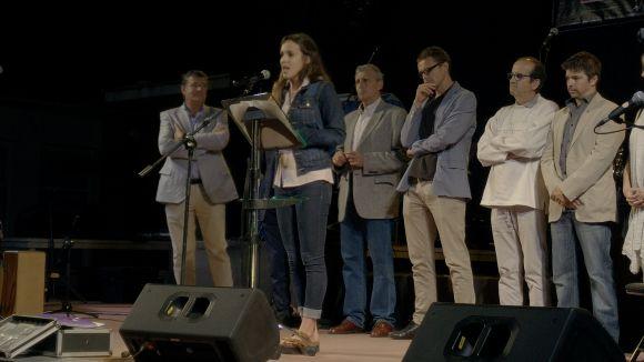 Abadal subratlla els valors de l'atletisme en el pregó de la Festa Major de Valldoreix