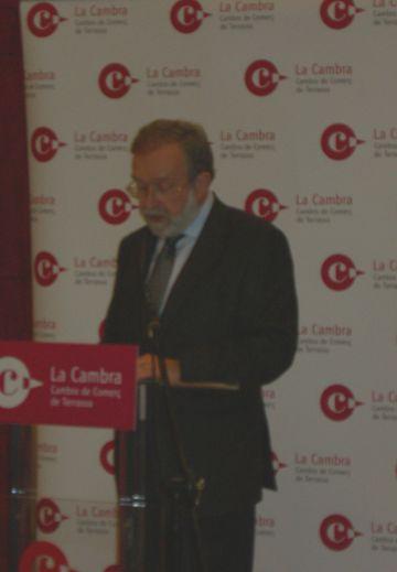 Marià Galí es tornarà a presentar a president de la Cambra de Terrassa