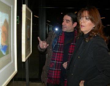 Bonet exposa les seves aquarel·les a la Biblioteca Gabriel Ferrater