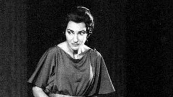 Maria Callas representant a Medea