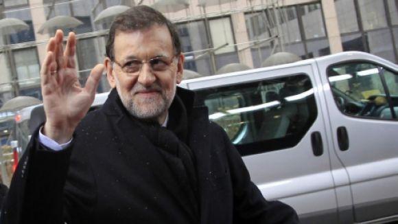 Mariano Rajoy durant el debat d'investidura / Font: 324.cat