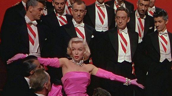 Marilyn Monroe cantant 'Diamonds are a girl's best friend' / Foto: wikipedia