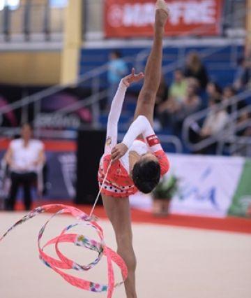 Marina Fernández s'entrena per guanyar-se una plaça per als Jocs Olímpics