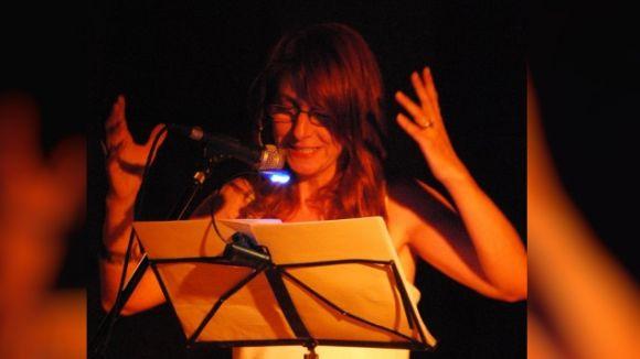 Marta Millàs, durant l'espectacle / Foto: Web M. Millàs