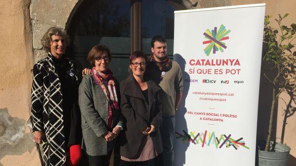 Catalunya Sí que es Pot alerta de la situació de bloqueig que viu el país