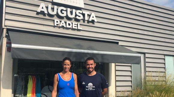 Marta Marrero, número 5 del WPT, i Juan Luis Blanco, director esportiu