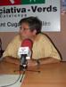 El regidor d'ICV, Joan Martí Balada