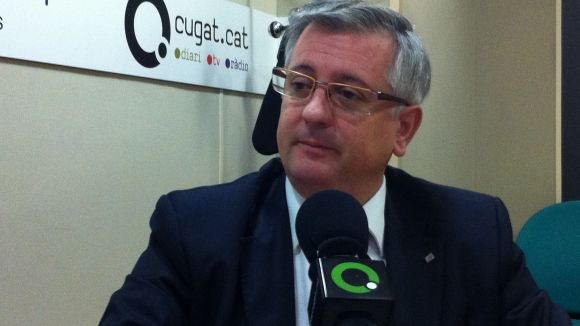 Xavier Martorell, en una entrevista a Cugat.cat