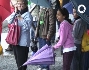 La pluja obliga a ajornar la Marxa a diumenge vinent