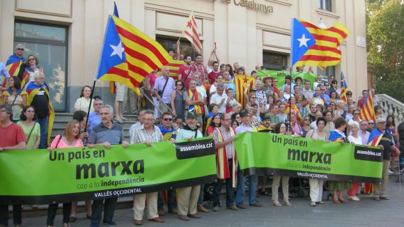 Sant Cugat formarà una cadena humana a favor de la independència