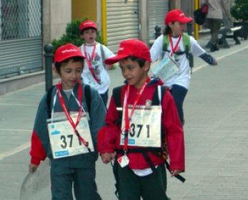 La 53a edició de la Marxa Infantil, l'últim diumenge de març