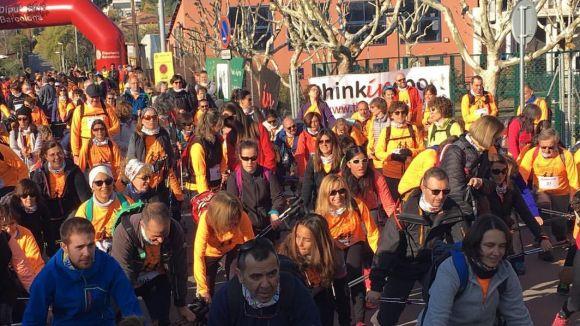 El Muntanyenc engega 2018 amb la Marxa Nòrdica incorporada al circuit català de la disciplina
