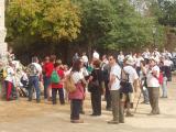 Els participants van sortir de Sta Maria de Vallvidrera.
