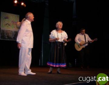 Valloreix escalfa motors per la Festa Major amb un espectacle de música i cinema