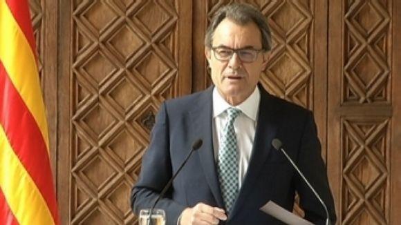 Els partits locals es pronuncien sobre el nou format de consulta de Mas