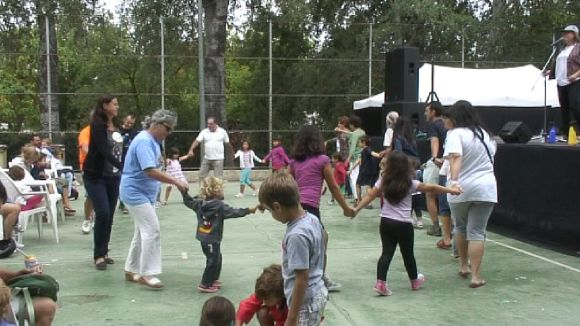 La pista de Mas Gener acull el gruix d'activitats de la Festa Major del barri / Foto: Cugat Mèdia