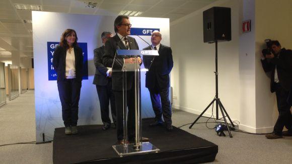 La multinacional GFT obre a Sant Cugat una nova seu per a 900 treballadors