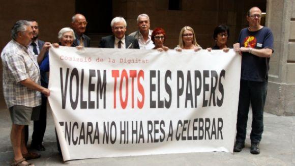 El govern impugnarà la decisió de Madrid de no tornar tots els 'papers' de Salamanca