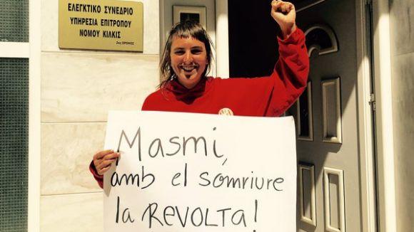 Ariadna Masmitjà torna dilluns a Catalunya després de dos dies detinguda a Grècia
