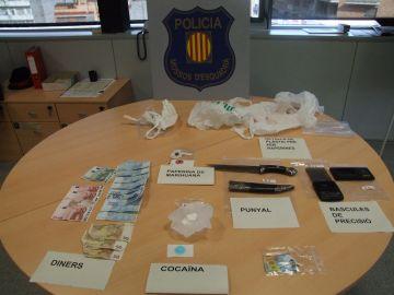 Un veí de Sant Cugat, detingut acusat de tràfic de cocaïna