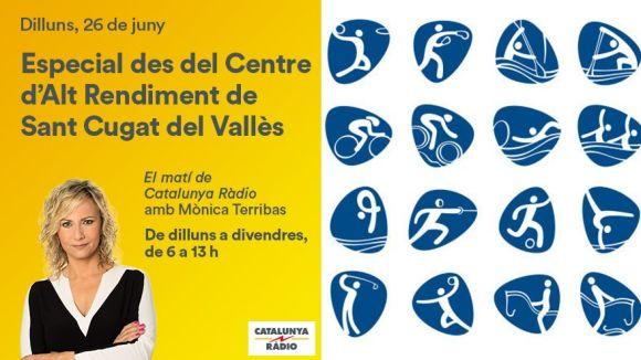 El programa torna a visitar Sant Cugat / Foto: 'El matí de Catalunya Ràdio'