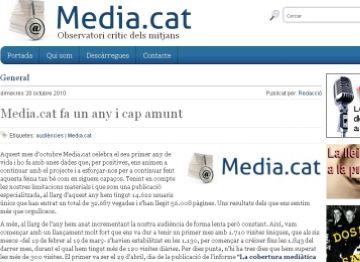 Mèdia.cat aconsegueix el finançament per a l'anuari de temes silenciats en 12 hores