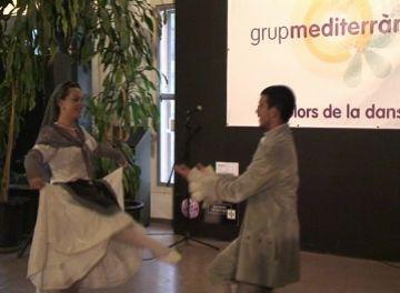 El grup Mediterrània ret homenatge a Mel·lo al Mercat de les Flors