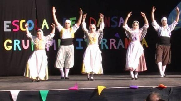 L'Escola de Dansa del Grup Mediterrània es llueix per tancar el curs