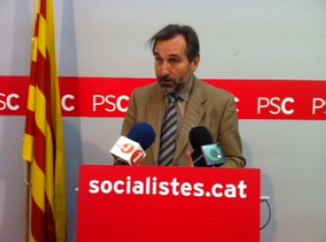Menéndez presenta un manifest de suport a la seva candidatura a les primàries del PSC