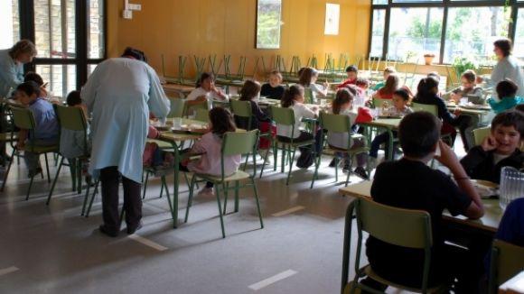 L'Ajuntament obre les sol·licituds per a les beques menjador del curs vinent