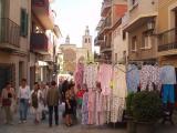 La plaça Pere San ha estat un anar i venir de gent.