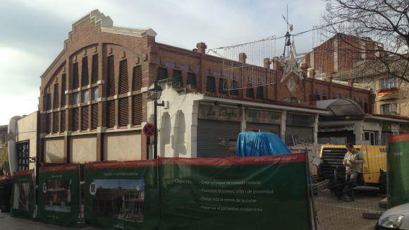 La remodelació del mercat Pere San s'endarrereix i obrirà a l'abril