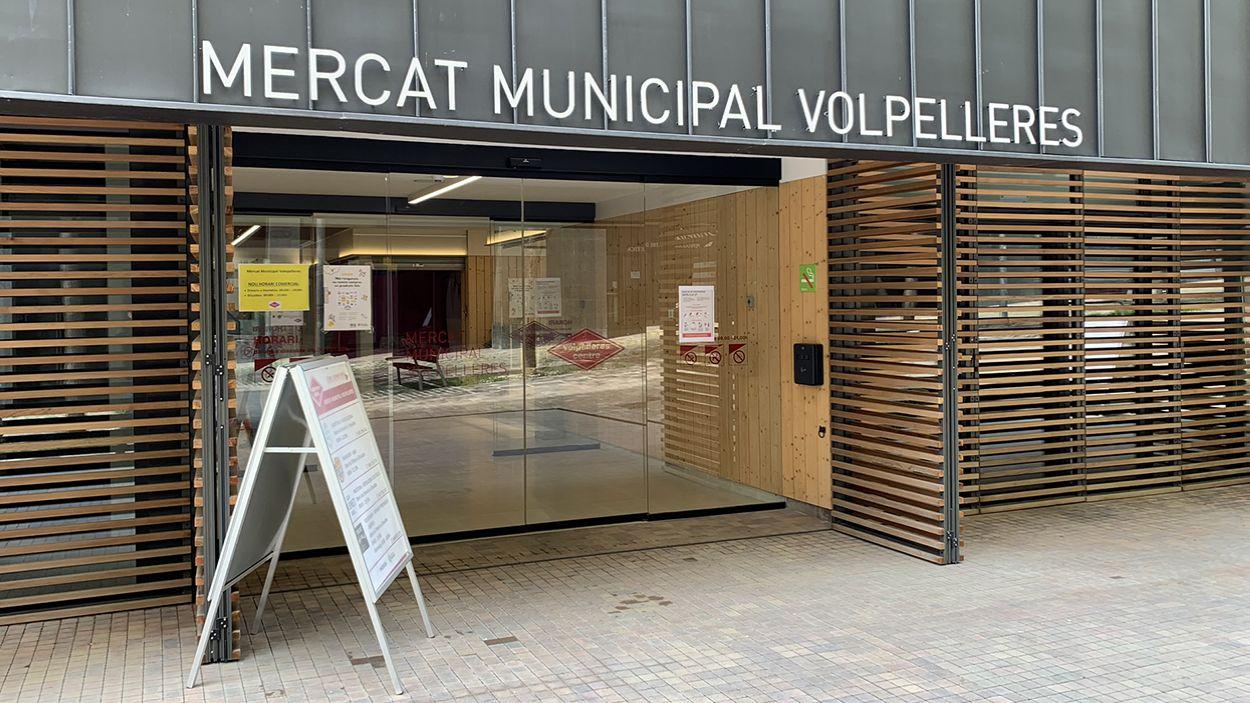 El Mercat del Volpelleres tanca del 10 al 23 d'agost / Foto: Localpres