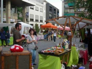 Algunes de les parades del mercat