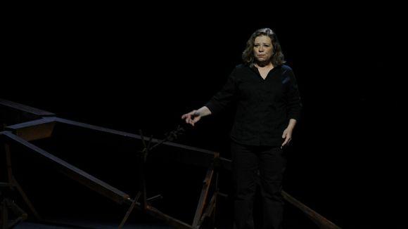Mercè Arànega emociona el Teatre-Auditori amb la història de Neus Català