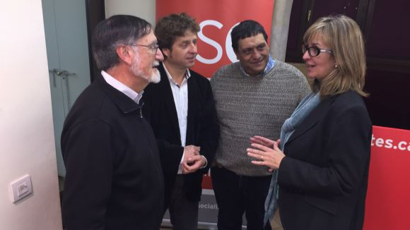 Mercè Perea (PSC): 'L'Estat espanyol serà federal o no serà'