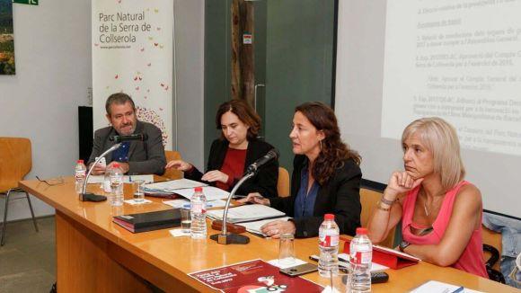 Mercè Conesa assumeix la presidència del Consorci del Parc Natural de Collserola